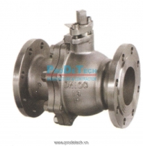 Cast iron rising ball  valve