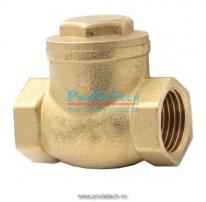 Brass swing check valve