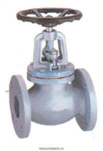 Cast iron stop valve